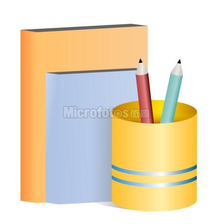 铅笔 书办公文具