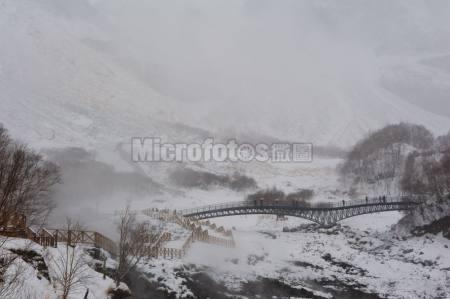 长白山雪景