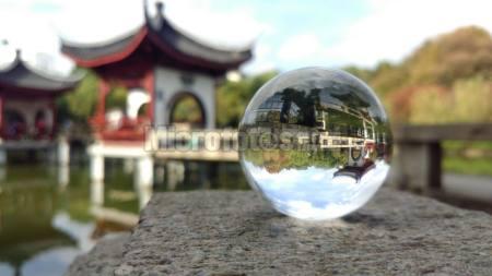 水晶球中的公园