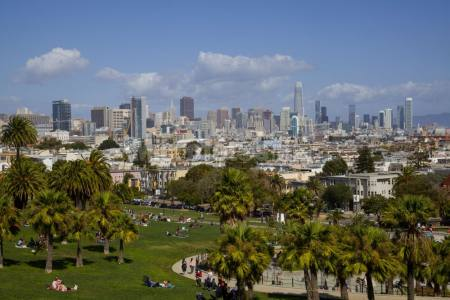 Mission Dolores Park San Francisco