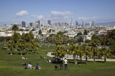 Mission Dolores Park San Francisco