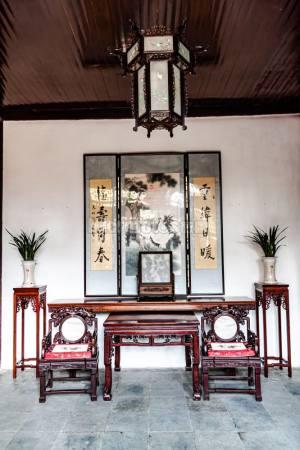 古代客厅家居装饰风格